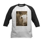 CUTEST DONKEY Kids Baseball Jersey