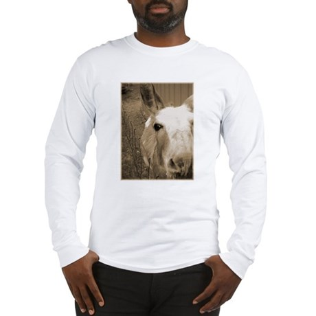 CUTEST DONKEY Long Sleeve T-Shirt
