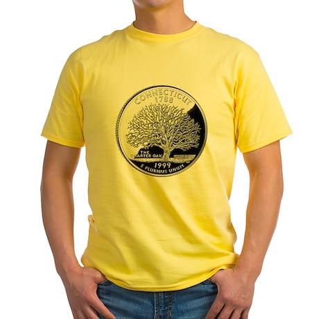 Connecticut Quarter Yellow T-Shirt