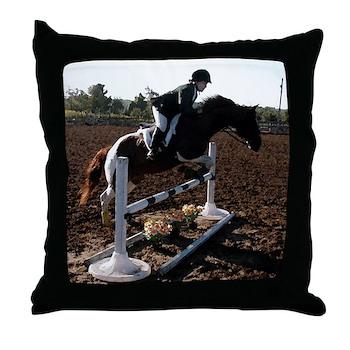 JUMPING Throw Pillow