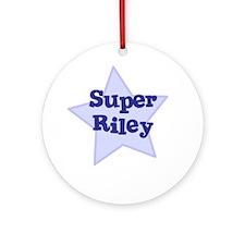 Super Riley Ornament (Round)