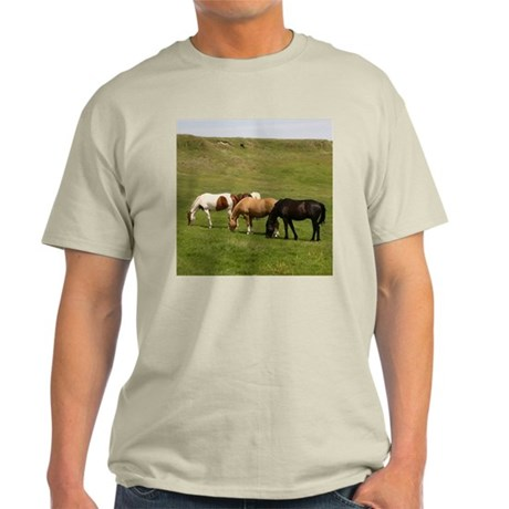 GRAZING Ash Grey T-Shirt