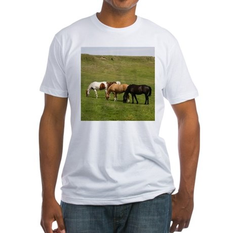 GRAZING Fitted T-Shirt
