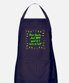 Letter to Santa Apron (dark)