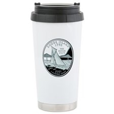 Rhode Island Quarter Travel Mug