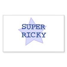 Super Ricky Rectangle Decal