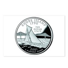 Rhode Island Quarter Postcards (Package of 8)