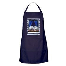 OLD ENGLISH SHEEPDOG WINDOW Apron (dark)