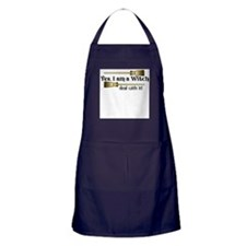 Yes I am a Witch Apron (dark)