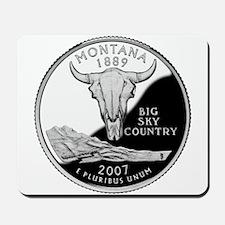 Montana Quarter Mousepad