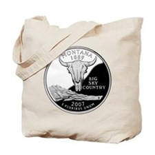 Montana Quarter Tote Bag
