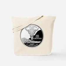 Montana Quarter Tote Bag
