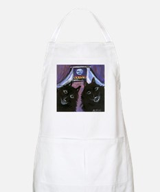 schipperke two moon Apron