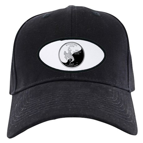 Wyoming Quarter Black Cap