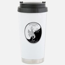 Wyoming Quarter Travel Mug