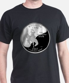 Wyoming Quarter T-Shirt
