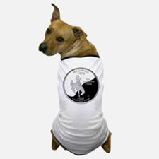 Wyoming Quarter Dog T-Shirt