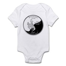 Wyoming Quarter Infant Bodysuit