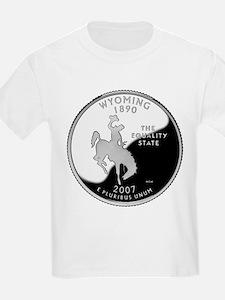 Wyoming Quarter T-Shirt