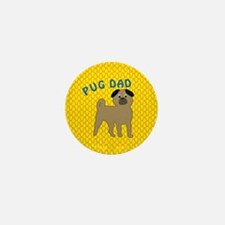 Pug Dog Dad Mini Button