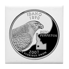 Idaho Quarter Tile Coaster