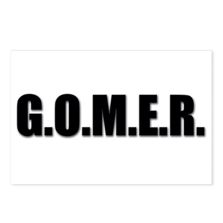 G.O.M.E.R. Postcards (Package of 8)
