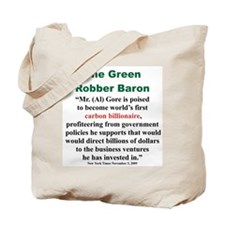 The Green Robber Baron Tote Bag