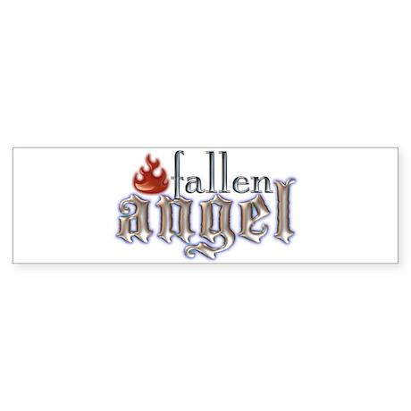 Fallen Angel Bumper Sticker