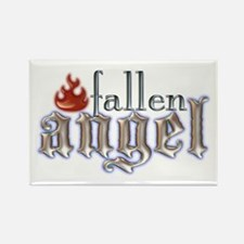 Fallen Angel Rectangle Magnet