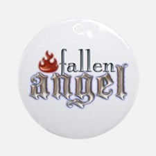 Fallen Angel Ornament (Round)
