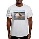 SPLASHING Ash Grey T-Shirt
