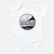 Utah Quarter Infant Bodysuit