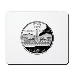 Utah Quarter Mousepad