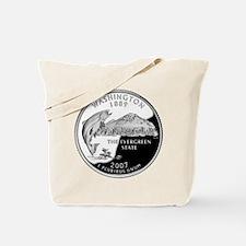 Washington Quarter Tote Bag