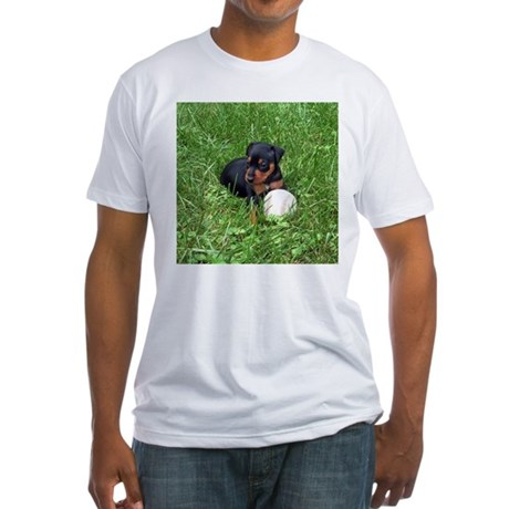 MIN PIN Fitted T-Shirt