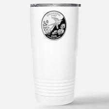 Oklahoma Quarter Stainless Steel Travel Mug