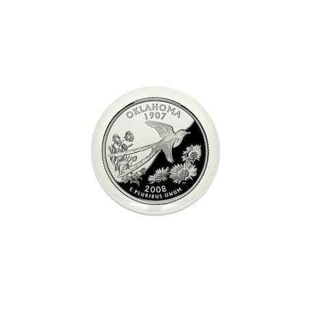 Oklahoma Quarter Mini Button (100 pack)