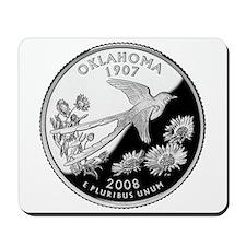 Oklahoma Quarter Mousepad