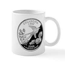 Oklahoma Quarter Mug