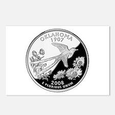 Oklahoma Quarter Postcards (Package of 8)