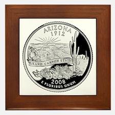 Arizona Quarter Framed Tile