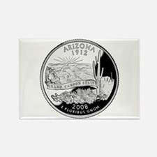 Arizona Quarter Rectangle Magnet