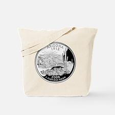 Arizona Quarter Tote Bag