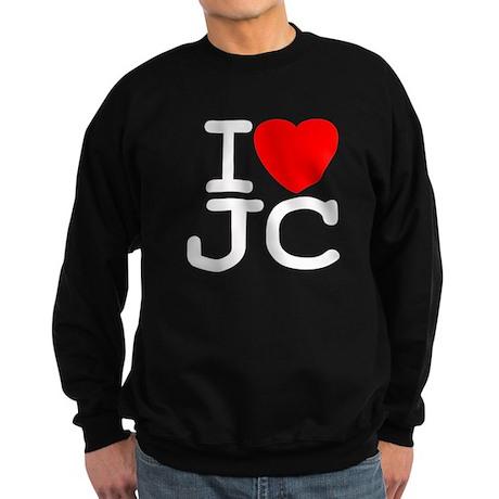 I Love JC Sweatshirt (dark)