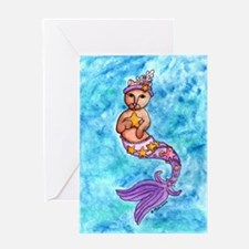 Starfish Mercat Greeting Card