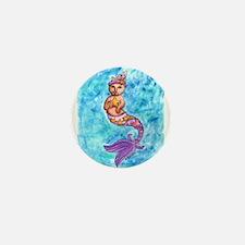 Starfish Mercat Mini Button