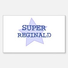 Super Reginald Rectangle Decal