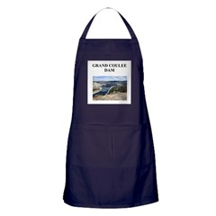 grand coulee dam gifts and t- Apron (dark)