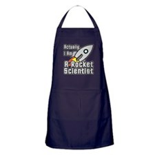 Rocket Scientist Apron (dark)