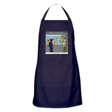 """The Straw"" Apron (dark)"